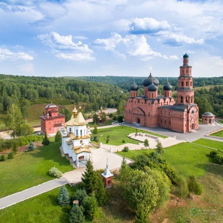 Успенский Свято-Георгиевский мужской монастырь «Святые кустики» (1дн)