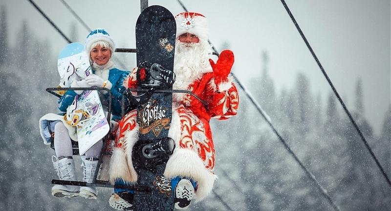 Новый год на горных лыжах!