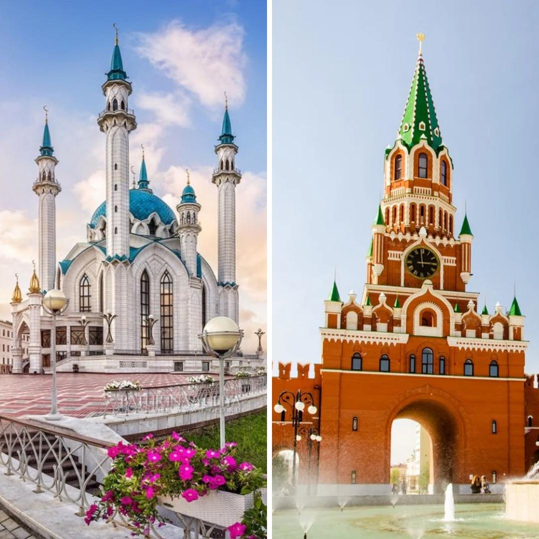 Две столицы за два дня: Казань — Йошкар-Ола